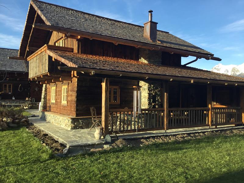 Bauernhaus Mit 2 Chalets In Mariapfarr Kaufen Gartengestaltung Und